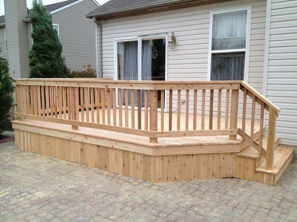 Wood decks by dream decks for Wood deck designs pictures