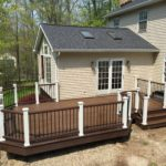 Trex Deck with Trex Composite rails built in Painsville OH