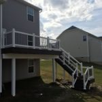 Trex Deck with two post built in Jackson OH