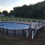 Trex Pool Deck built in Green OH 44685